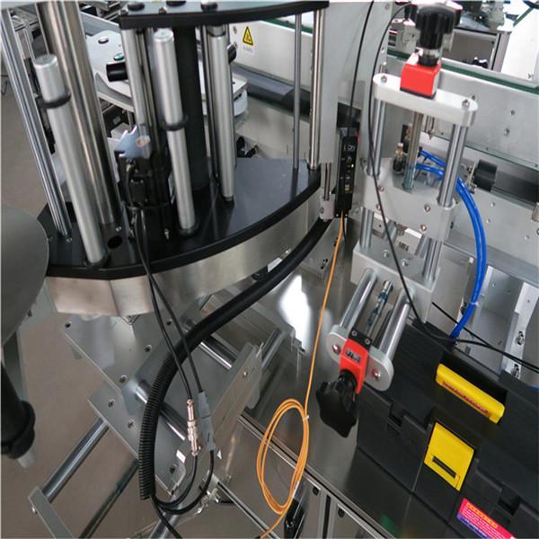 Stroj za etiketiranje kvadratnih steklenic, stroj za etiketiranje nalepk z dvostransko steklenico