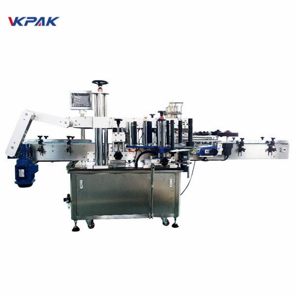350 ml stroj za nalepke z nalepkami za okrogle viale