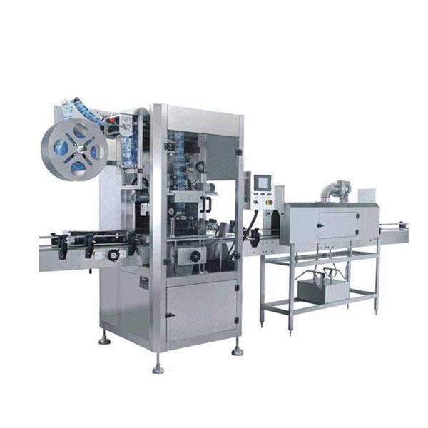 Stroj za etiketiranje skrčenih rokavov s skodelicami 5,5 KW
