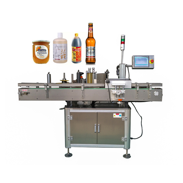 Okoli avtomatskega stroja za etiketiranje nalepk ravna in okrogla steklenica