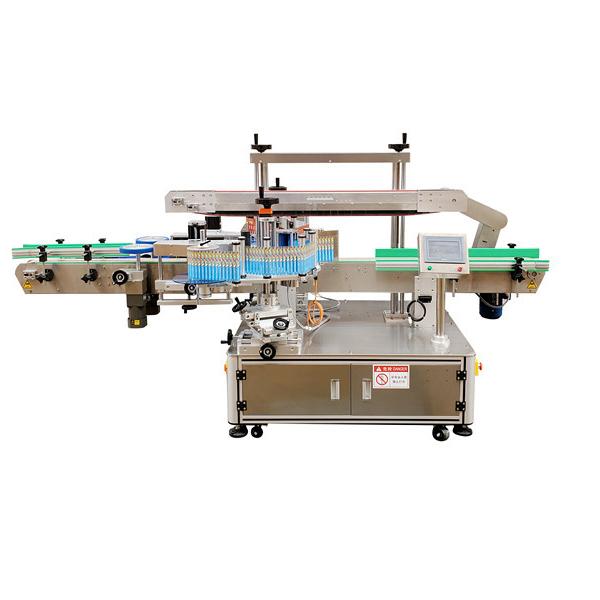 Stroj za etiketiranje dvostranskih plastičnih steklenic z avtomatsko nalepko 12 mesecev garancije