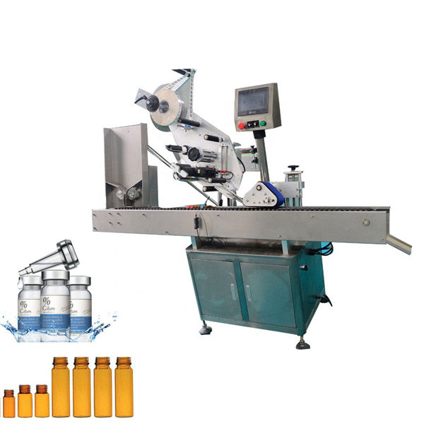Avtomatski stroj za etiketiranje vial z žvečilnim gumijem za 10 ml majhno okroglo steklenico