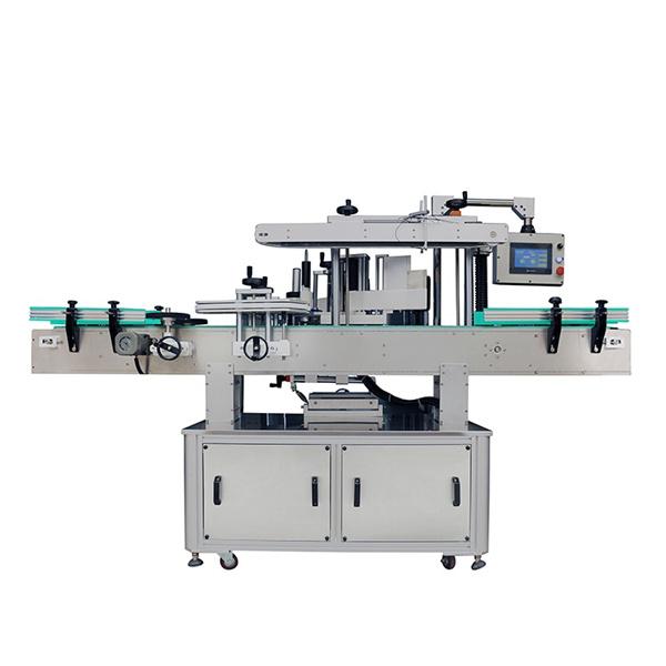 Avtomatski stroj za etiketiranje dvostranskih nalepk za ovalne in ravne steklenice šampona