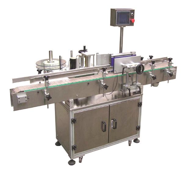 Avtomatski stroj za nanašanje etiket za visoke hitrosti za samolepilne steklenice