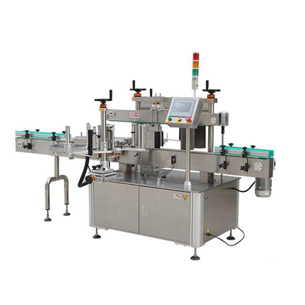 Avtomatski stroj za etiketiranje nalepk okrogle steklenice s tiskalnikom datumov