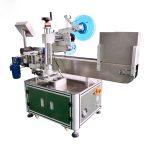 Aluminijasta zlitina avtomatskega stroja za vodoravno etiketiranje vial