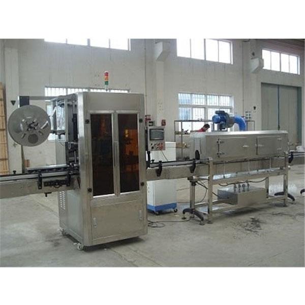 Stroj za etiketiranje skrčljivih rokavov s plastičnim pokrovom z generatorjem pare