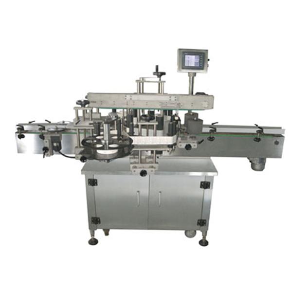 Dvostranski avtomatski stroj za etiketiranje nalepk