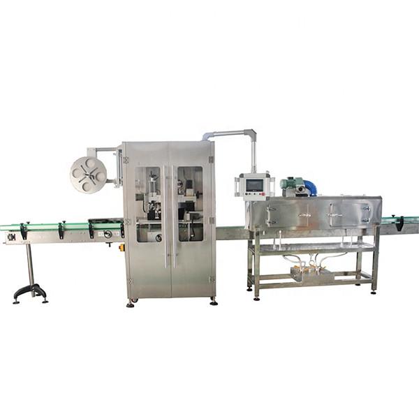 Dvostranski stroj za etiketiranje skrčljivih rokavov iz nerjavečega jekla za različne steklenice