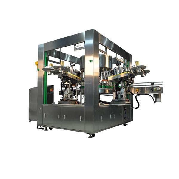 Učinkovita strojna oprema za označevanje nalepk za steklenice