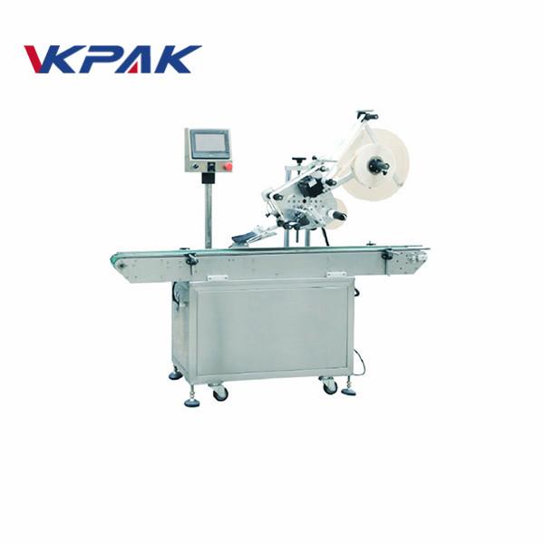 Stroj za etiketiranje nalepk iz umetne mase s kosilom za visoke hitrosti