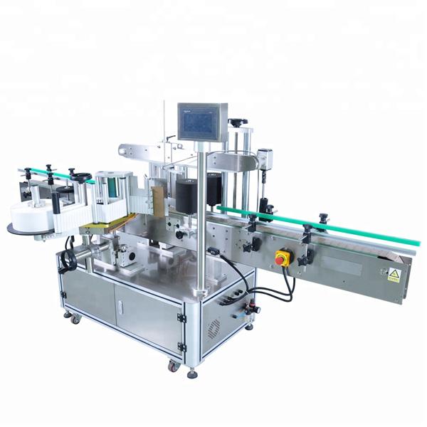Stroj za etiketiranje hitrih okroglih steklenic za nepravilne posode