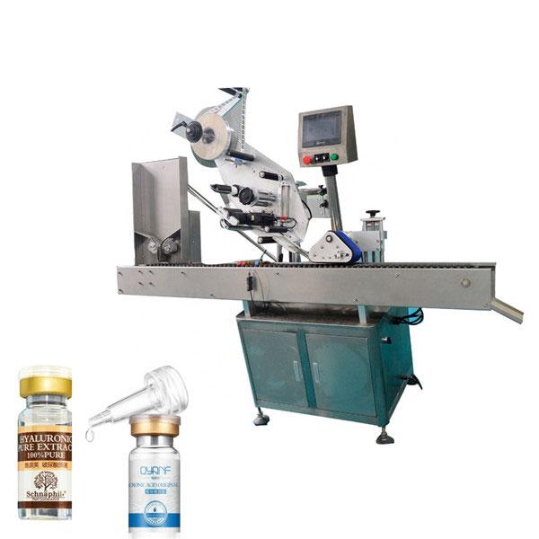 Visokohitrostni avtomatski avtomatski kartonski stroj za označevanje zgornje in spodnje škatle Sus304