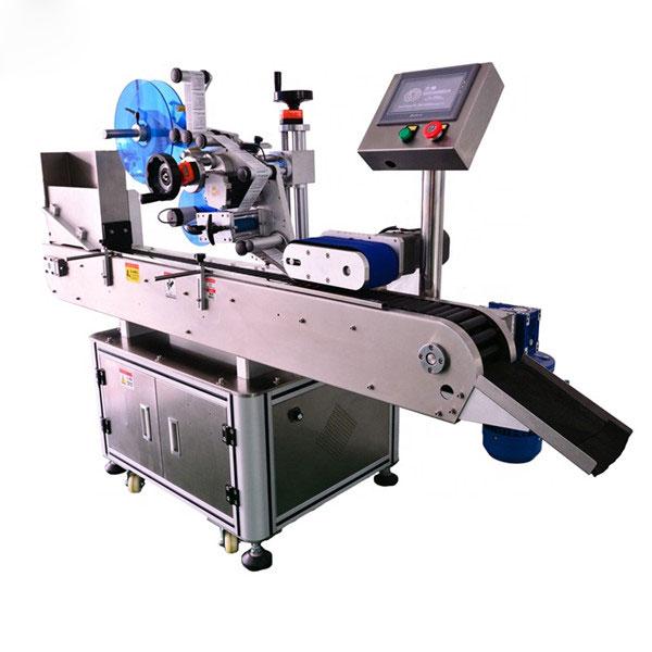 Inteligentni nadzorni stroj za vodoravno etiketiranje 10 ml za majhne steklenice Samodejno