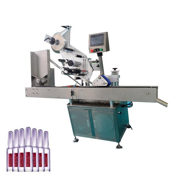 Stroj za etiketiranje vial Intelligent Control Sus304 Economy Automatic Cosmetics