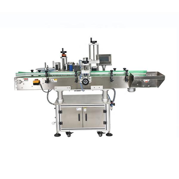 Inteligentni PLC krmilni avtomatski stroj za etiketiranje dvostranskih nalepk