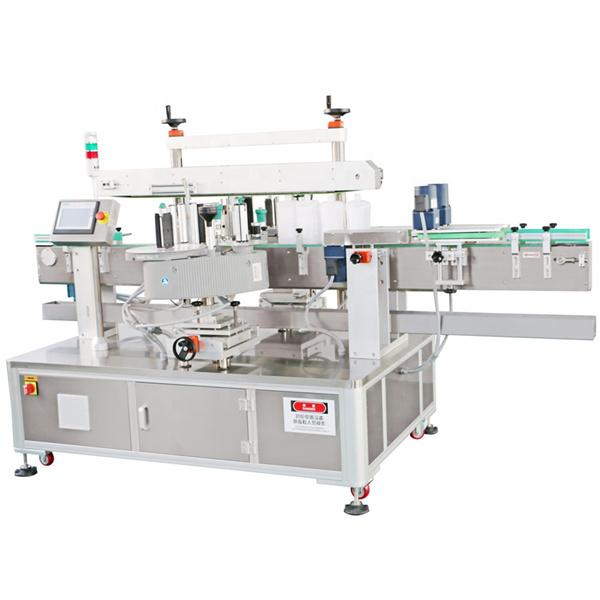 Stroj za nalepke steklenic za olje, detergent, stroj za etiketiranje spredaj in zadaj