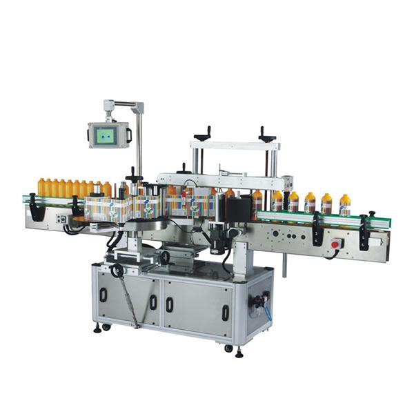 Stroj za etiketiranje plastenk Odm s Plc in zaslonom na dotik
