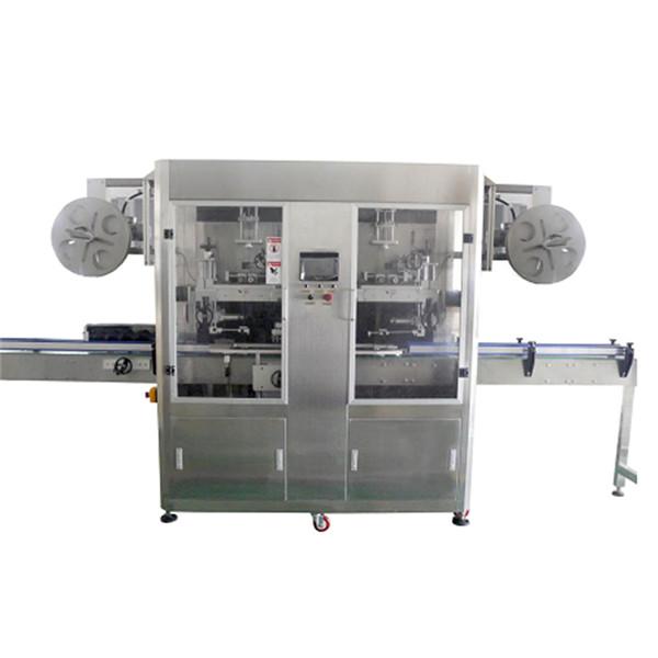 Stroj za etiketiranje skrčljivih rokavov iz steklenice PET za različne steklenice CE