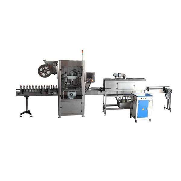 PET Funkcionalni stroj za nanašanje etiket iz nerjavečega rokava