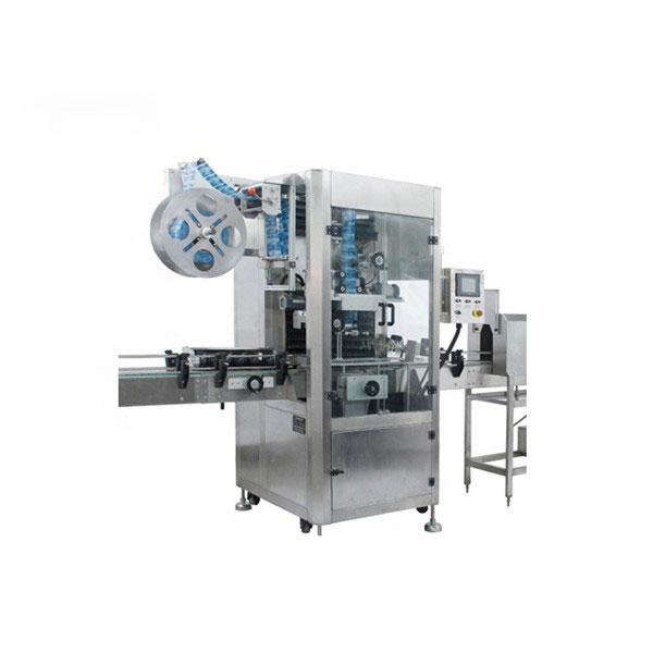 Stroj za nanos PVC skrčljivih rokavov Popolnoma avtomatski stroj za skrčenje etiket
