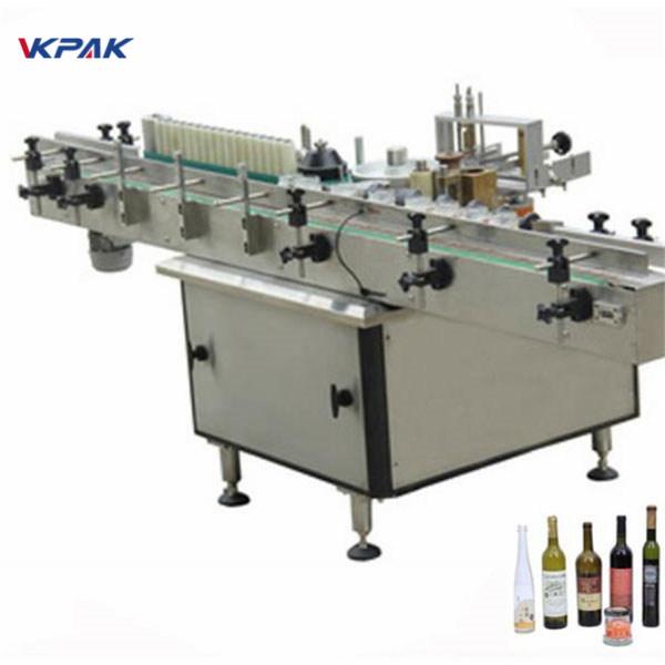 Stroj za nalepke nalepk za pasto in hladno lepilo za različne steklenice samodejno