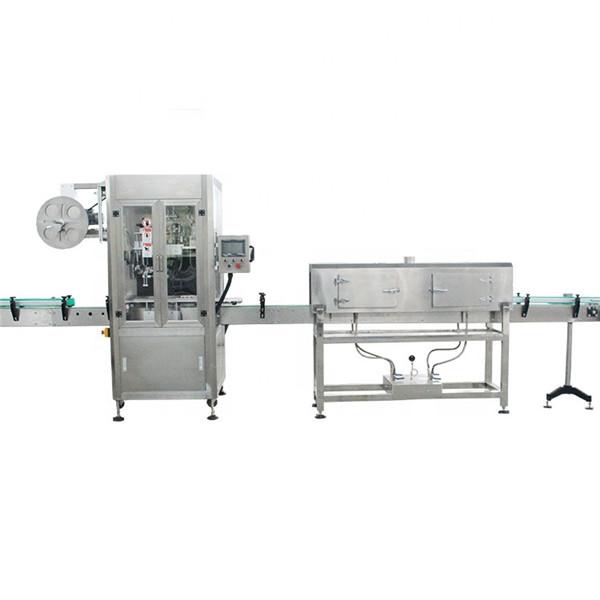 Stroj za etiketiranje skrčljivih rokavov z visoko hitrostjo iz plastične čaše z generatorjem pare