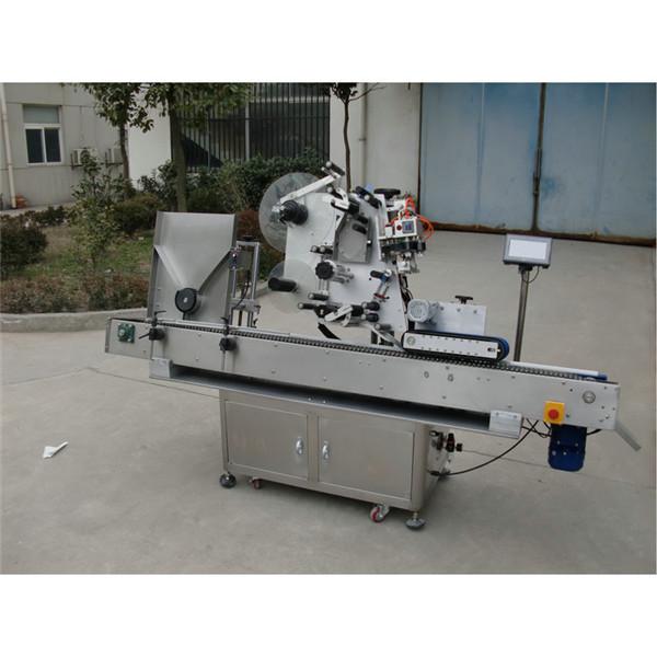 Stroj za etiketiranje nalepk za viale s servo motorjem Samodejna nalepka za ampule