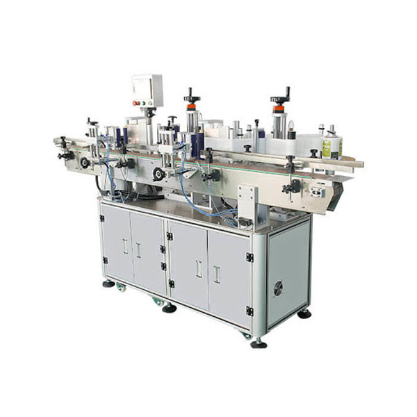 Stroj za etiketiranje nalepk za kozmetične steklenice šampona, dolžina posode 30-100 mm