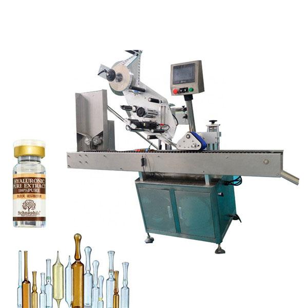 Stroj za etiketiranje nalepk z majhno okroglo steklenico za stekleničko 10 ml