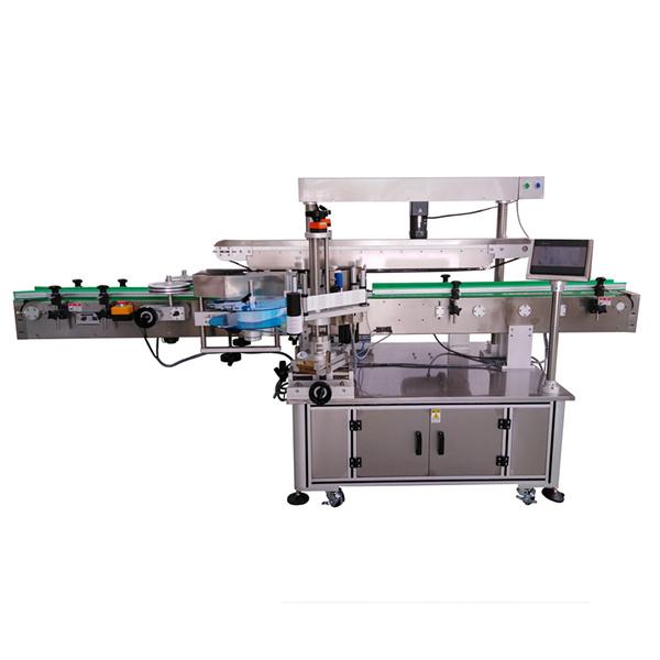 Stroj za samolepilno etiketiranje s tremi nalepkami