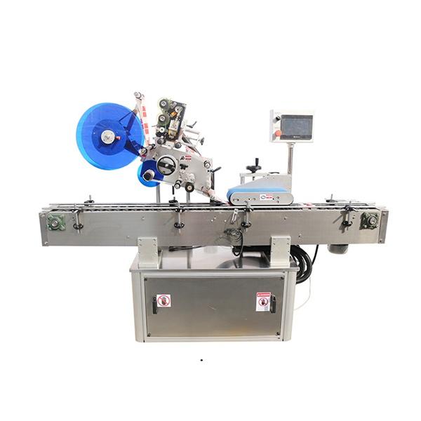 Stroj za etiketiranje z zgornjo in dvojno stranjo