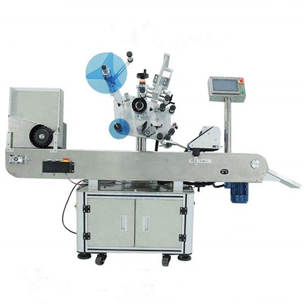 Stroj za etiketiranje vial za oralne steklenice s tekočino