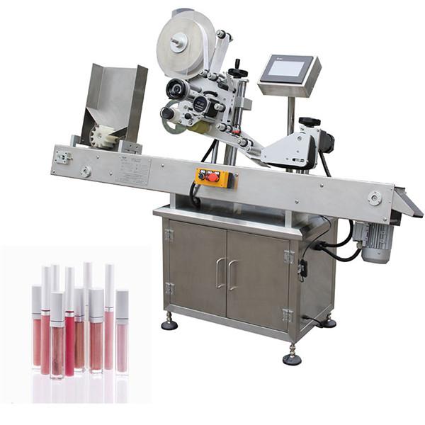 Stroj za etiketiranje vial okrogle steklenice za medicinsko industrijo
