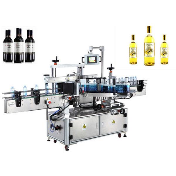 Stroj za nalepke nalepk za steklenice vina, etiketa za steklenice piva