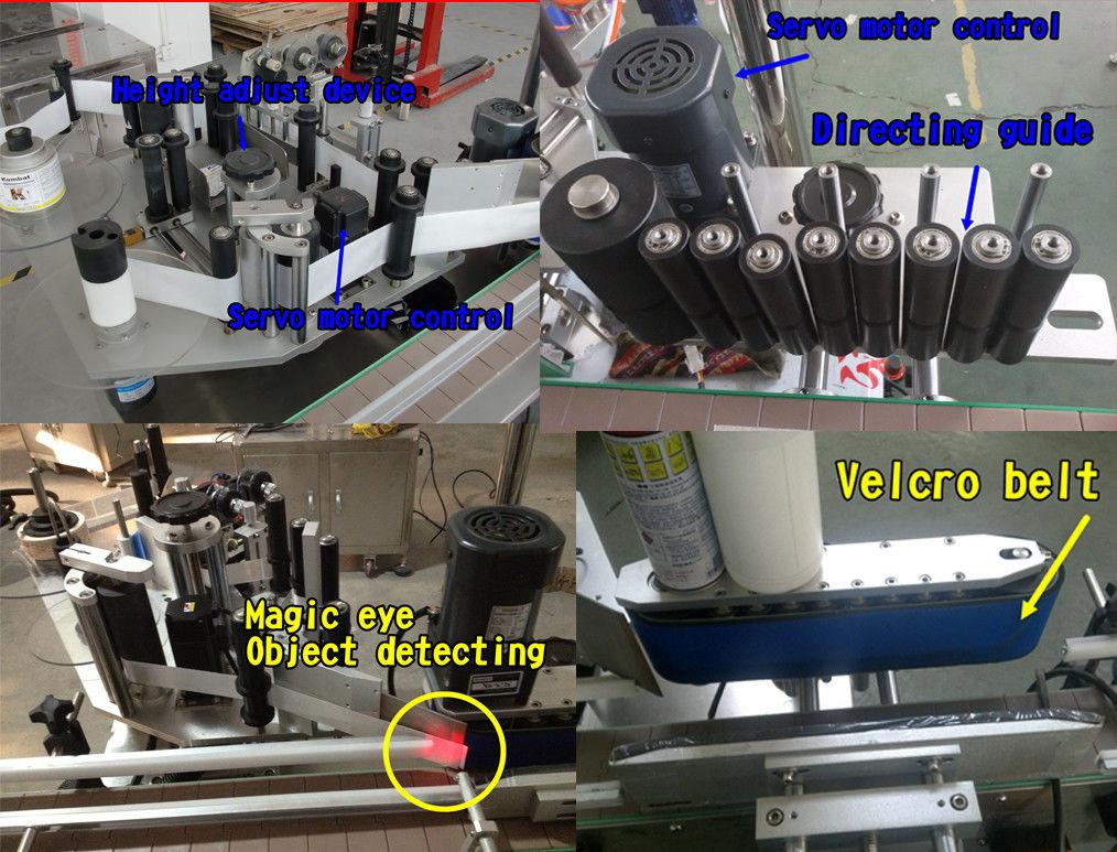 Kozmetična nalepka za steklenice Stroj za etiketiranje / samolepilno etiketiranje okroglih steklenic