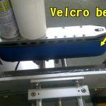 Stroj za nanašanje etiket za nalepke za nohte