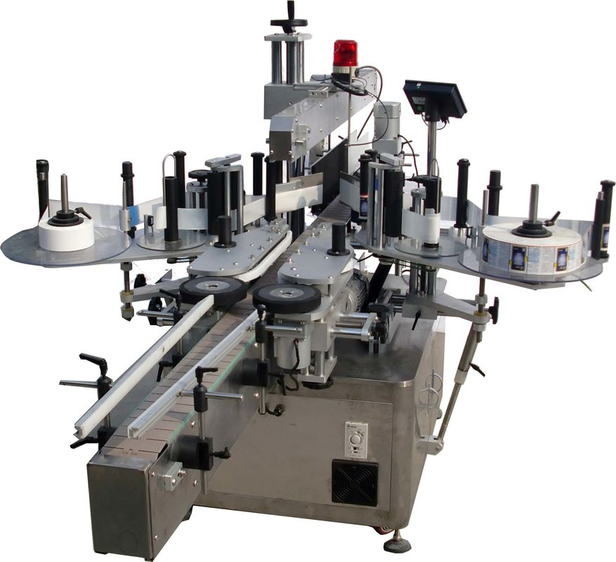 Stroj za avtomatsko etiketiranje ravnih površin za tovarniško visoke hitrosti vreč