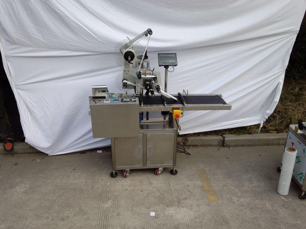 Stroj za etiketiranje z zgornjim delom Nalepka za nalepke Neobvezen kodirni stroj