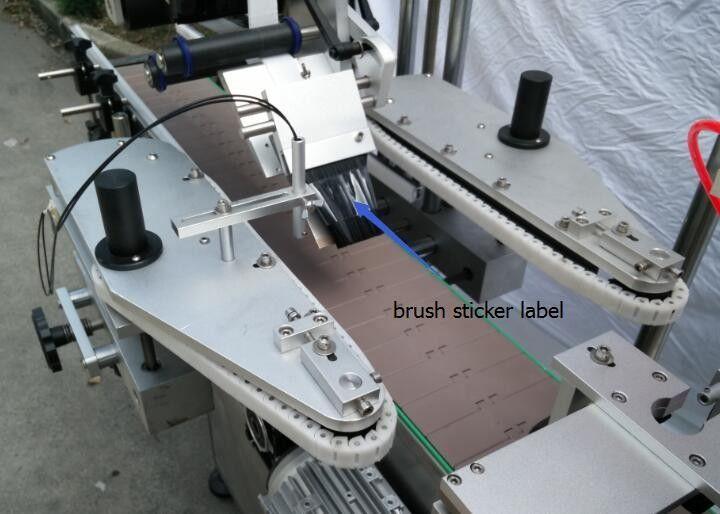Avtomatski stroj za etiketiranje nalepk okrogle steklenice za motor s steklenico piva