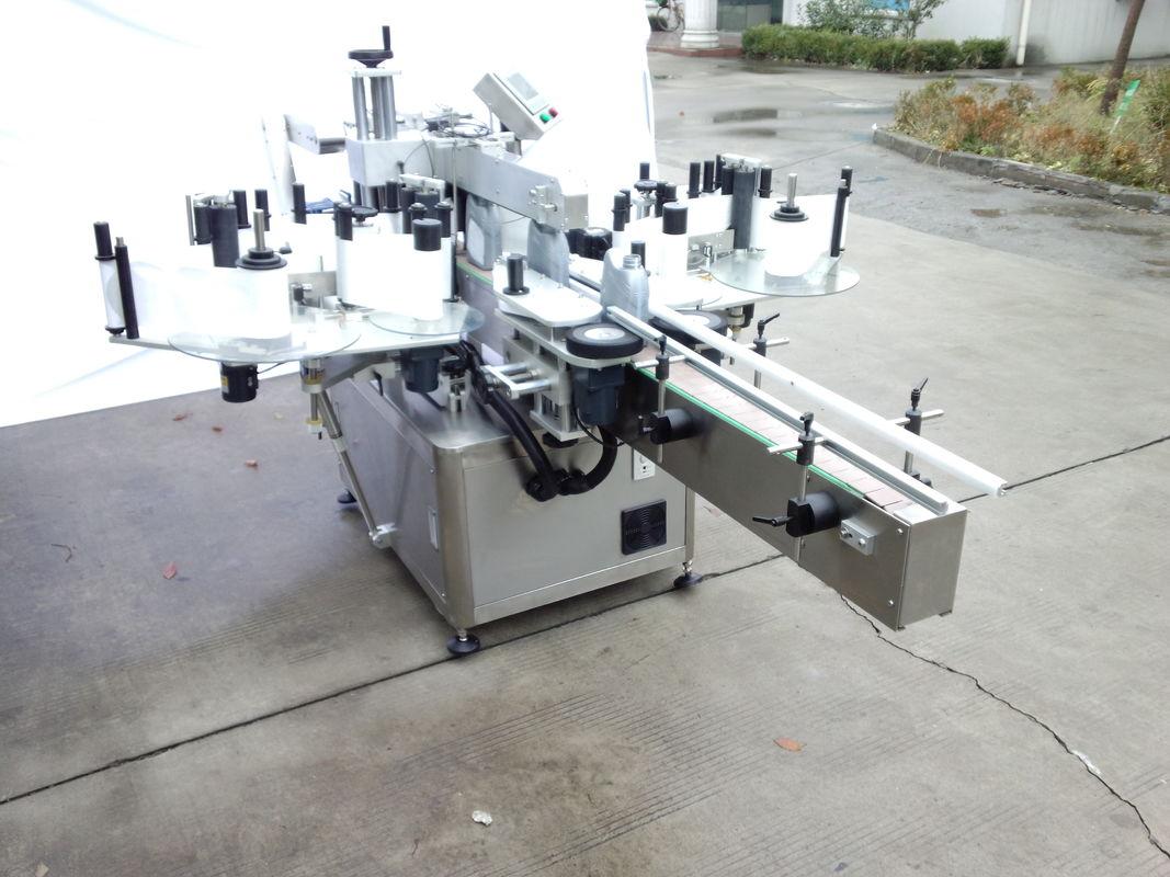 Avtomatski dvostranski etiketni stroj za nalepke s sprednjo in zadnjo stranjo