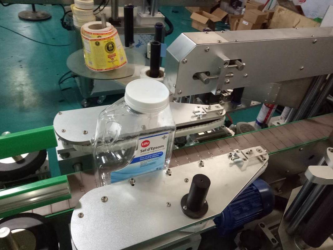 Stroj za etiketiranje nalepk za kvadratne steklenice z dvema stranema za izdelke za osebno nego