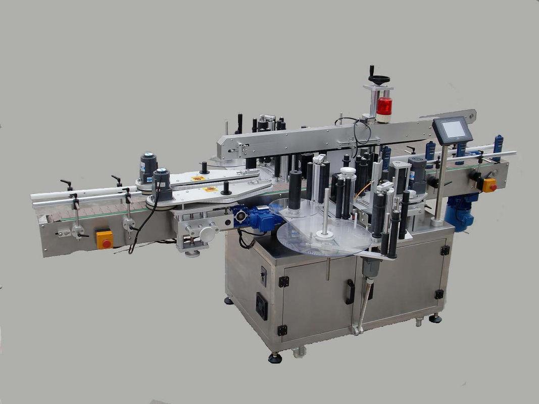 Avtomatski stroj za etiketiranje dvostranskih nalepk z napravo za klicanje in kodirnim strojem