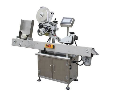 Stroj za etiketiranje nalepk na viali s horizontalnim kemičnim svinčnikom