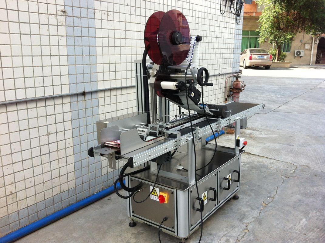 Stroj za etiketiranje z zgornjim delom električnega pogona, stroj za etiketiranje samolepilnih nalepk