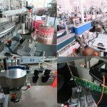 Stroji za etiketiranje sprednjih in zadnjih steklenic, Stroj za etiketiranje kozarcev