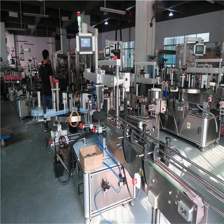 Stroj za etiketiranje plastenk, Stroj za etiketiranje steklenic za pitno mineralno vodo