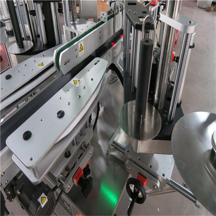 Stroj za etiketiranje nalepk CE, stroj za etiketiranje sprednjih in zadnjih steklenic