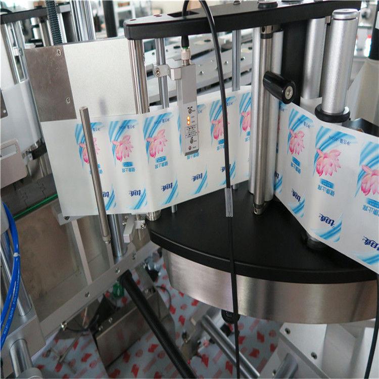 Samodejni enojni / dvostranski etiketirni etiketirni okrogli steklenični etiketni stroj