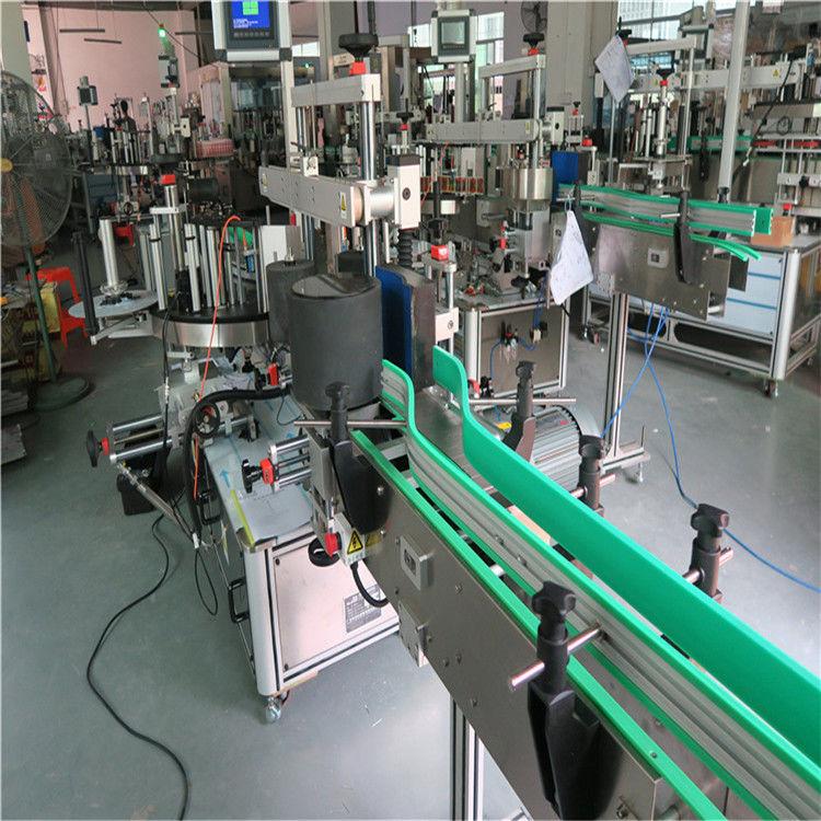 Stroj za etiketiranje steklenic z dvostransko samolepilno nalepko Maks